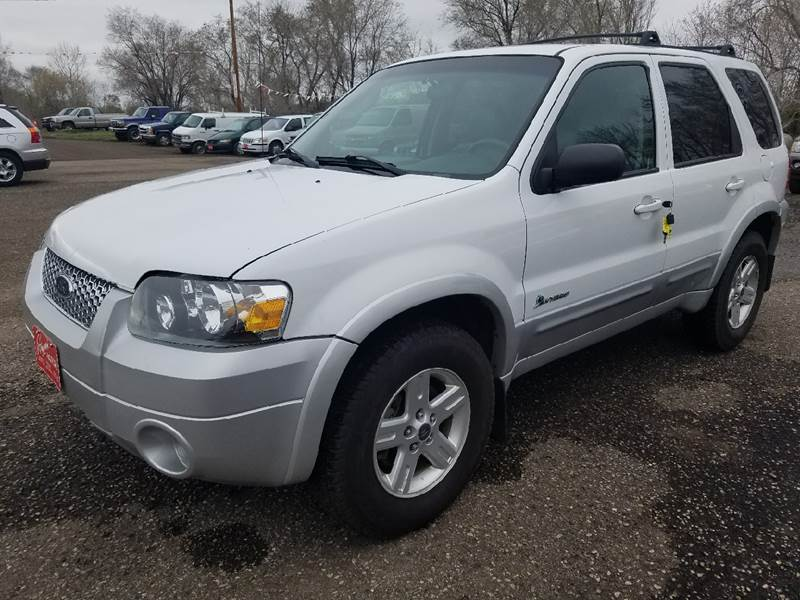 2005 Ford Escape Hybrid 4dr Suv In Mandan Nd Ron Lowman Motors