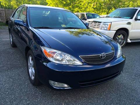 2003 Toyota Camry for sale at D & M Discount Auto Sales in Stafford VA