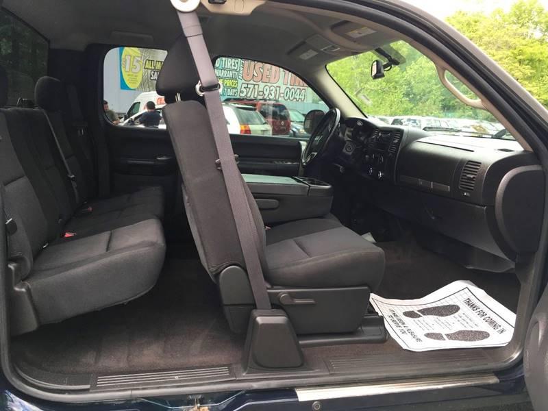 2008 Chevrolet Silverado 1500 for sale at D & M Discount Auto Sales in Stafford VA