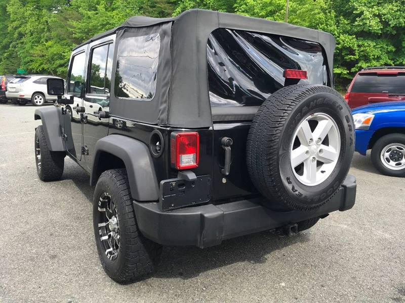2007 Jeep Wrangler Unlimited for sale at D & M Discount Auto Sales in Stafford VA