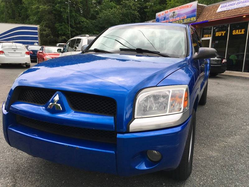 2007 Mitsubishi Raider for sale at D & M Discount Auto Sales in Stafford VA