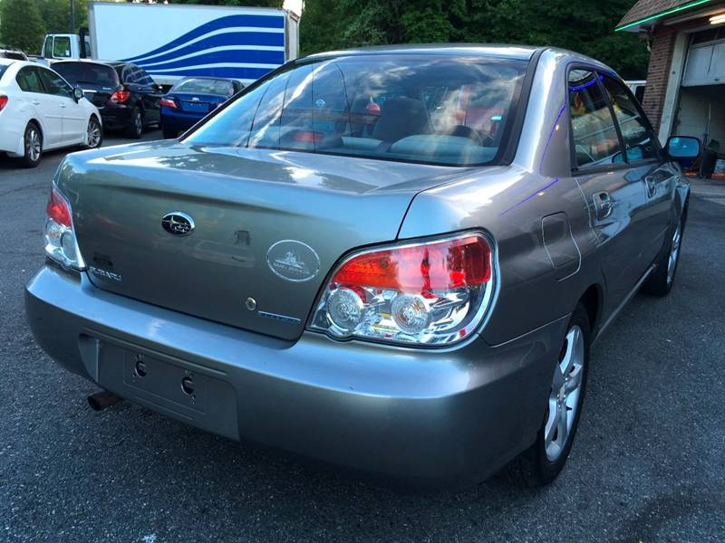 2007 Subaru Impreza for sale at D & M Discount Auto Sales in Stafford VA