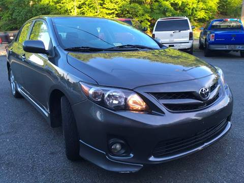 2012 Toyota Corolla for sale at D & M Discount Auto Sales in Stafford VA