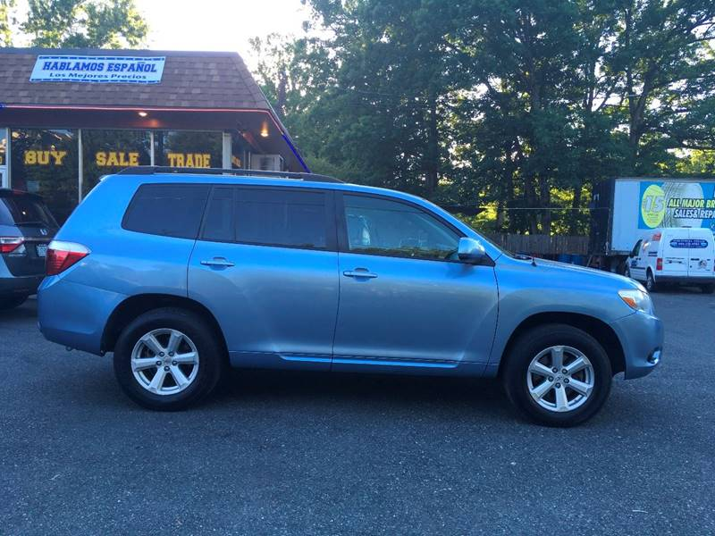 2008 Toyota Highlander for sale at D & M Discount Auto Sales in Stafford VA