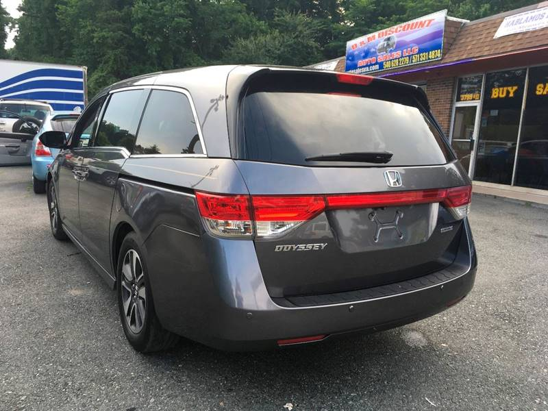 2014 Honda Odyssey for sale at D & M Discount Auto Sales in Stafford VA