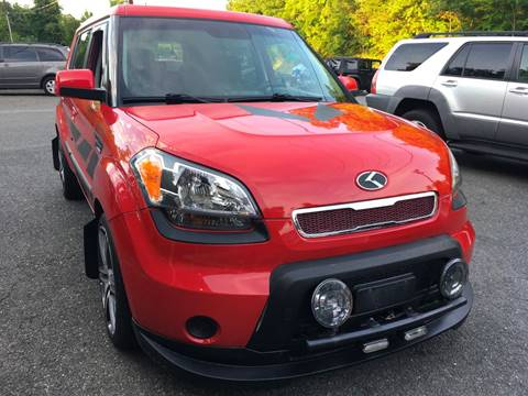 2010 Kia Soul for sale at D & M Discount Auto Sales in Stafford VA