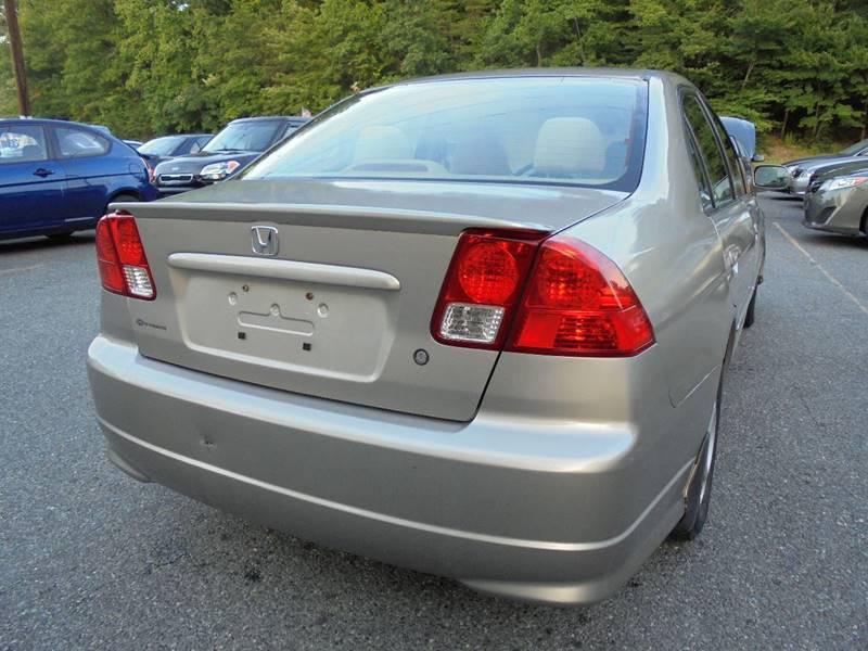 2004 Honda Civic for sale at D & M Discount Auto Sales in Stafford VA
