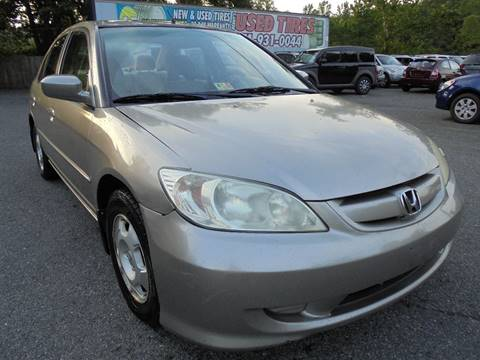 2004 Honda Civic for sale at D & M Discount Auto Sales in Stafford VA
