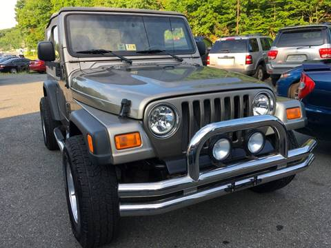 2003 Jeep Wrangler for sale at D & M Discount Auto Sales in Stafford VA