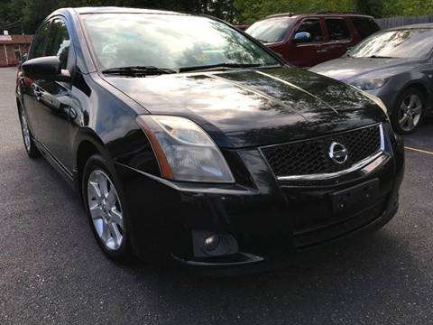 2010 Nissan Sentra for sale at D & M Discount Auto Sales in Stafford VA
