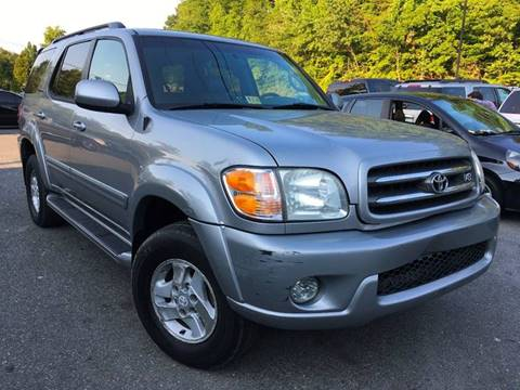 2002 Toyota Sequoia for sale at D & M Discount Auto Sales in Stafford VA