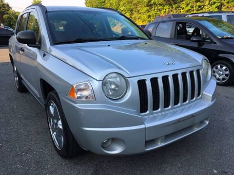 2007 Jeep Compass for sale at D & M Discount Auto Sales in Stafford VA