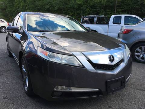 2009 Acura TL for sale at D & M Discount Auto Sales in Stafford VA