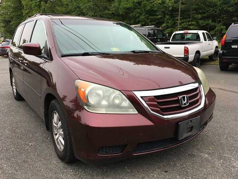 2008 Honda Odyssey for sale at D & M Discount Auto Sales in Stafford VA