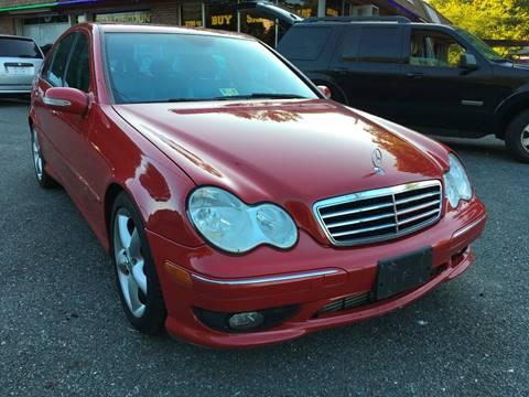 2005 Mercedes-Benz C-Class for sale at D & M Discount Auto Sales in Stafford VA