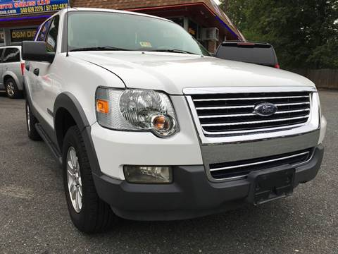 2006 Ford Explorer for sale at D & M Discount Auto Sales in Stafford VA