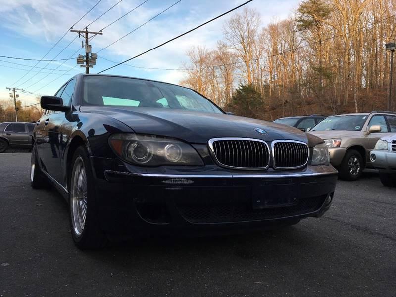2006 BMW 7 Series 750i In Stafford VA - D & M Discount Auto Sales