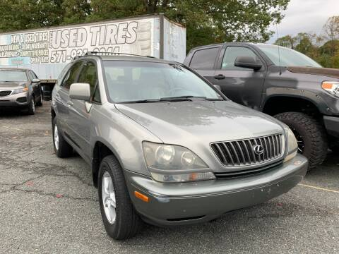 2000 Lexus RX 300 for sale at D & M Discount Auto Sales in Stafford VA