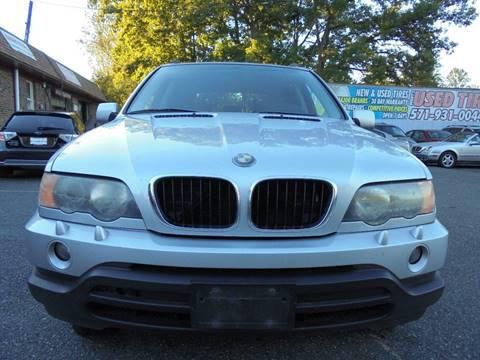 2003 BMW X5 for sale at D & M Discount Auto Sales in Stafford VA