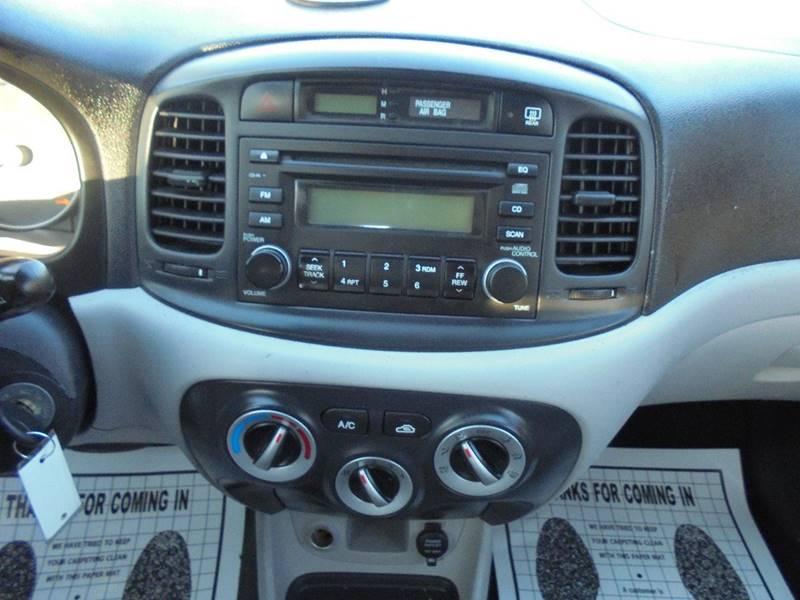 2008 Hyundai Accent for sale at D & M Discount Auto Sales in Stafford VA