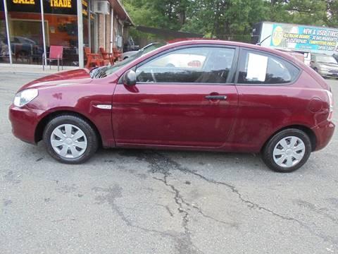 2007 Hyundai Accent for sale at D & M Discount Auto Sales in Stafford VA