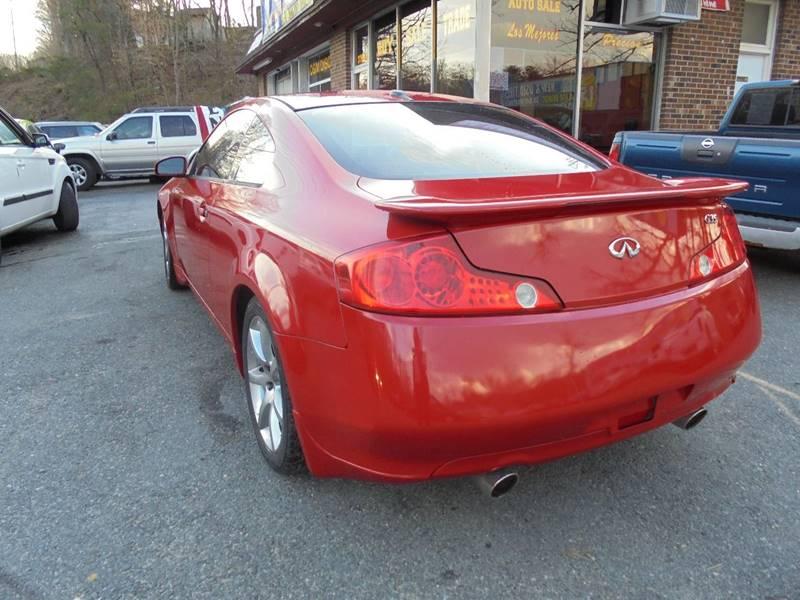2004 Infiniti G35 for sale at D & M Discount Auto Sales in Stafford VA
