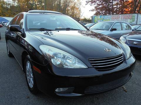 2003 Lexus ES 300 for sale at D & M Discount Auto Sales in Stafford VA