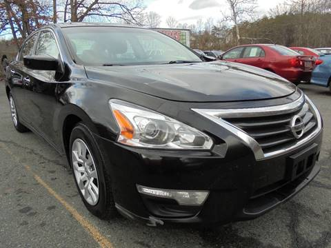 2013 Nissan Altima for sale at D & M Discount Auto Sales in Stafford VA
