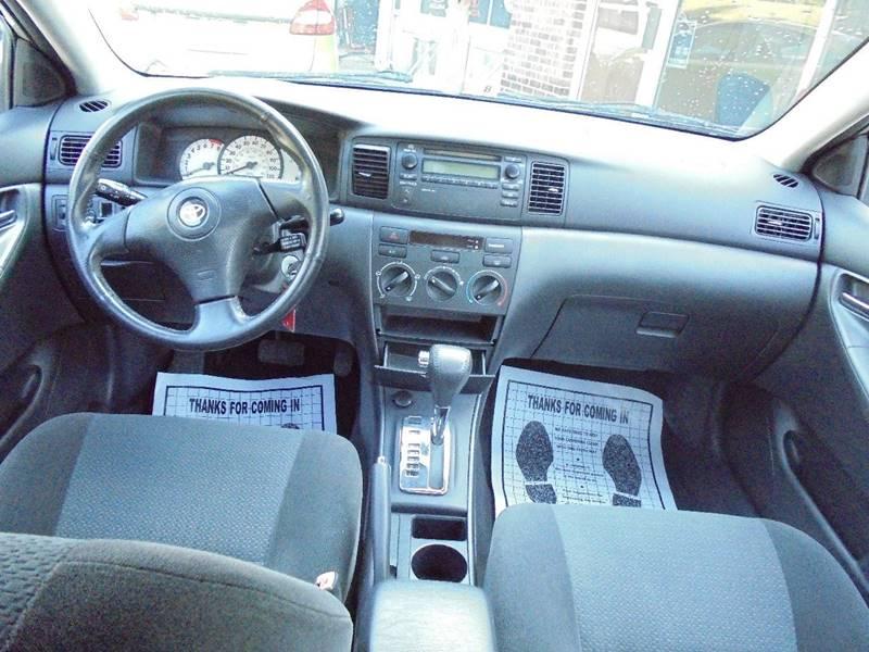 2004 Toyota Corolla for sale at D & M Discount Auto Sales in Stafford VA