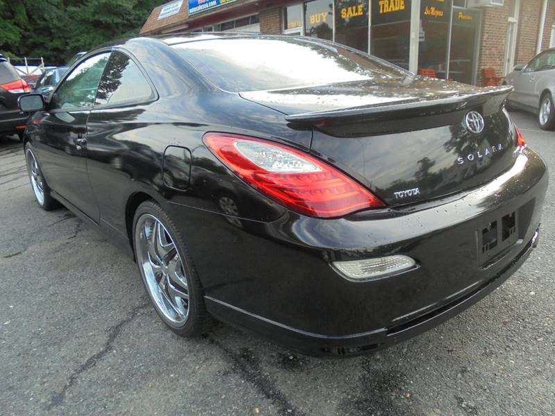 2007 Toyota Camry Solara for sale at D & M Discount Auto Sales in Stafford VA