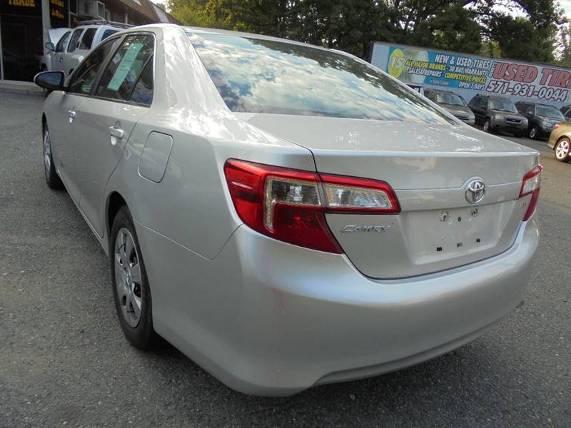 2012 Toyota Camry for sale at D & M Discount Auto Sales in Stafford VA