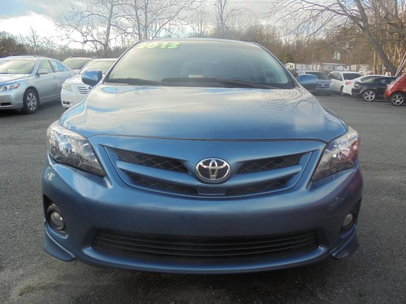 2013 Toyota Corolla for sale at D & M Discount Auto Sales in Stafford VA