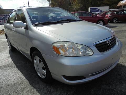 2007 Toyota Corolla for sale at D & M Discount Auto Sales in Stafford VA