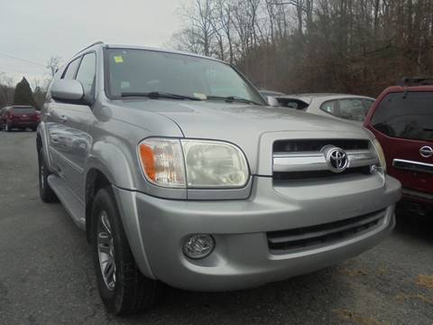 2006 Toyota Sequoia for sale at D & M Discount Auto Sales in Stafford VA