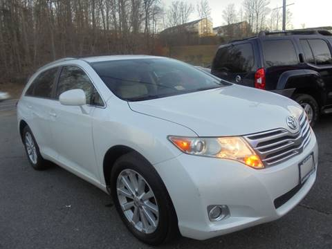 2010 Toyota Venza for sale at D & M Discount Auto Sales in Stafford VA