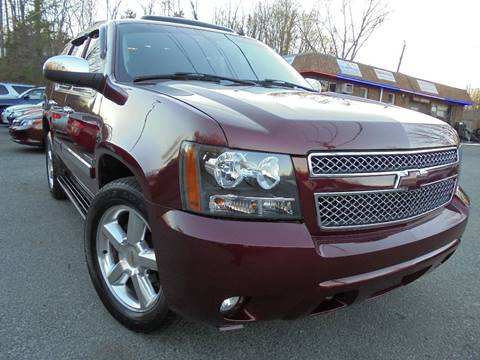 2008 Chevrolet Tahoe for sale at D & M Discount Auto Sales in Stafford VA