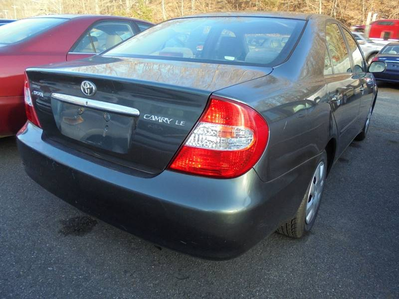 2002 Toyota Camry for sale at D & M Discount Auto Sales in Stafford VA