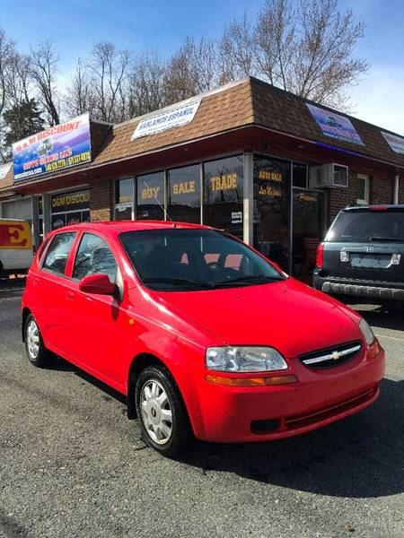 2004 Chevrolet Aveo for sale at D & M Discount Auto Sales in Stafford VA