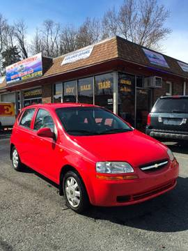 2004 Chevrolet Aveo for sale at D & M Discount Auto Sales in Stafford VA