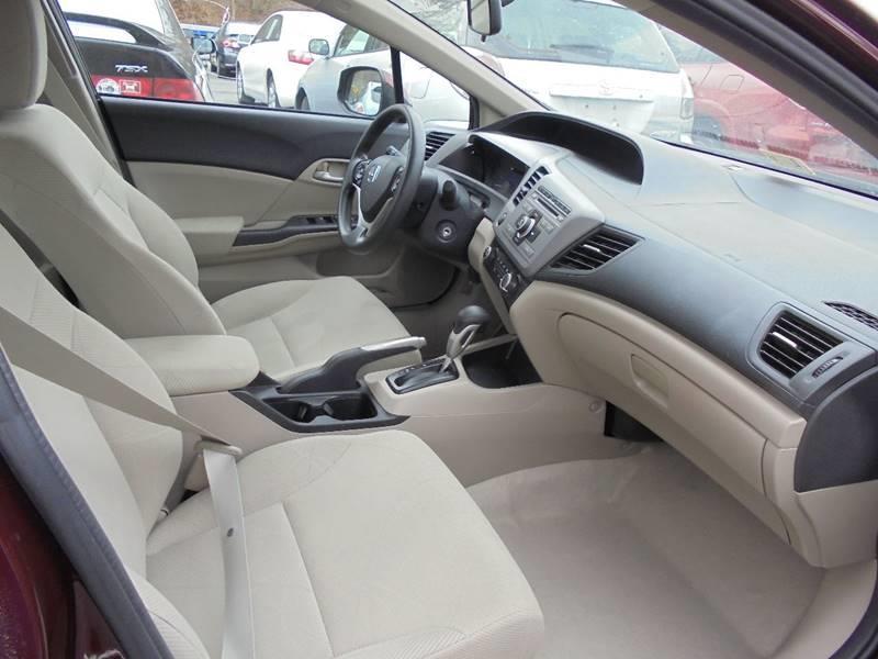 2012 Honda Civic for sale at D & M Discount Auto Sales in Stafford VA