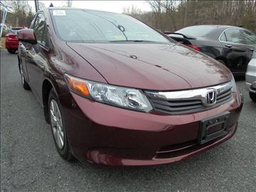 2012 Honda Civic for sale at D & M Discount Auto Sales in Stafford VA