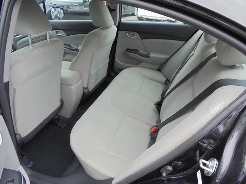 2013 Honda Civic for sale at D & M Discount Auto Sales in Stafford VA