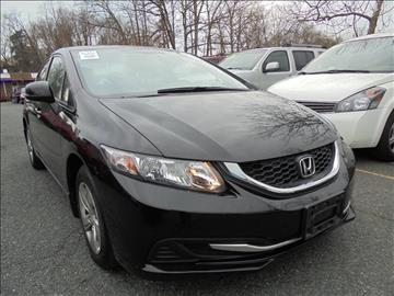 2013 Honda Civic for sale at D & M Discount Auto Sales in Stafford VA