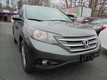 2014 Honda CR-V for sale at D & M Discount Auto Sales in Stafford VA