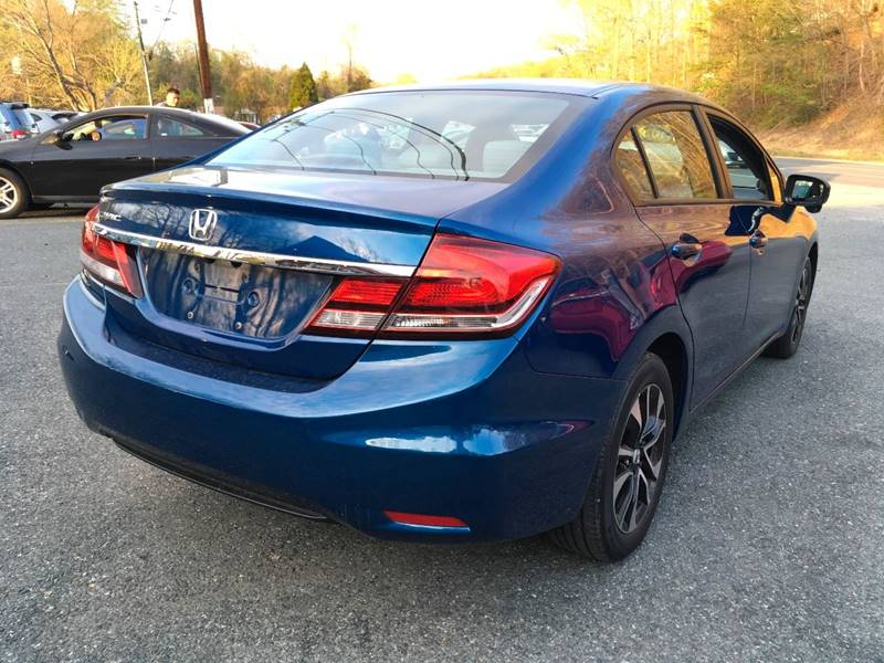 2014 Honda Civic for sale at D & M Discount Auto Sales in Stafford VA
