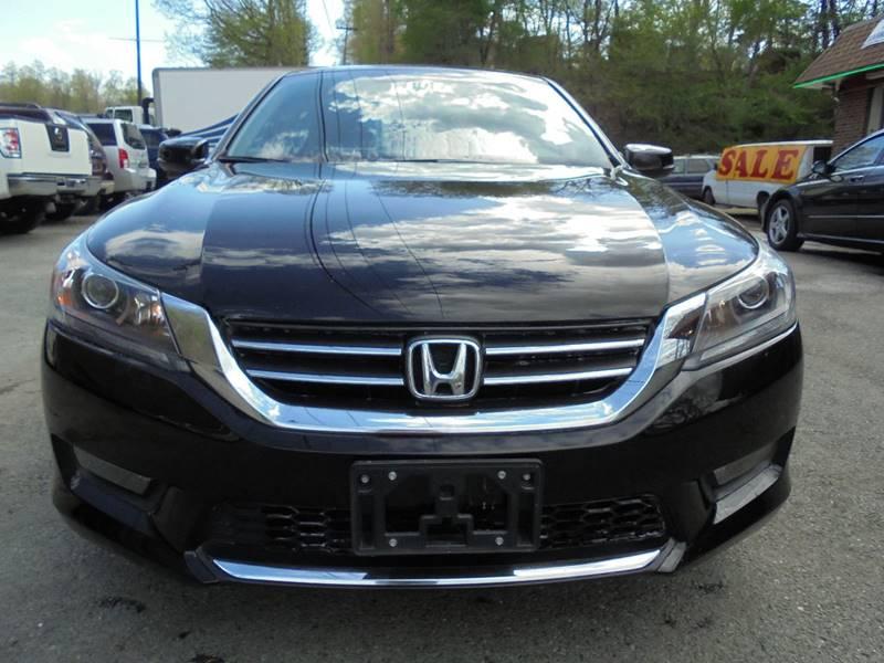 2014 Honda Accord for sale at D & M Discount Auto Sales in Stafford VA