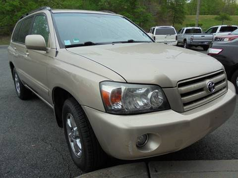 2005 Toyota Highlander for sale at D & M Discount Auto Sales in Stafford VA