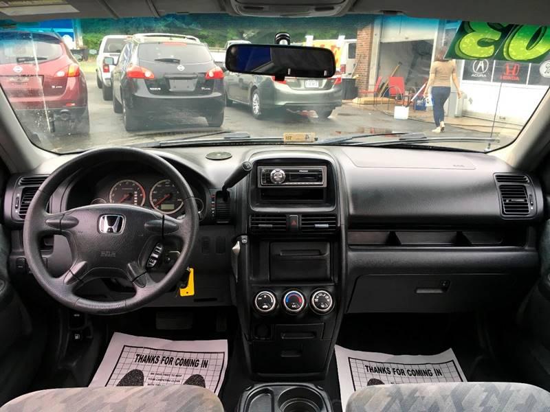 2003 Honda CR-V for sale at D & M Discount Auto Sales in Stafford VA