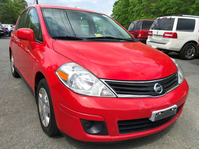 2010 Nissan Versa for sale at D & M Discount Auto Sales in Stafford VA