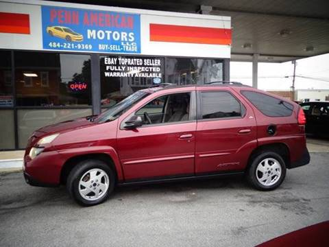 2002 Pontiac Aztek for sale in Allentown, PA
